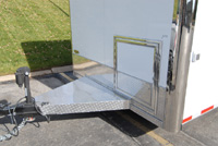 Battery and Generator Door